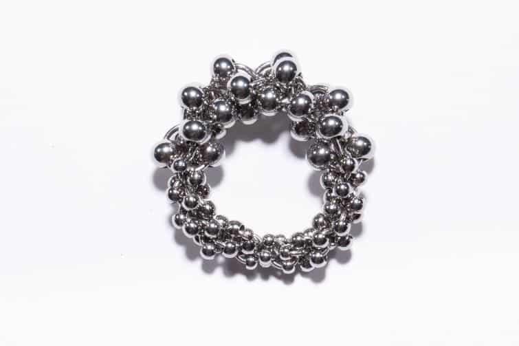 鋼藝美學CocoLin stainless chain maille:《龍珠戒》