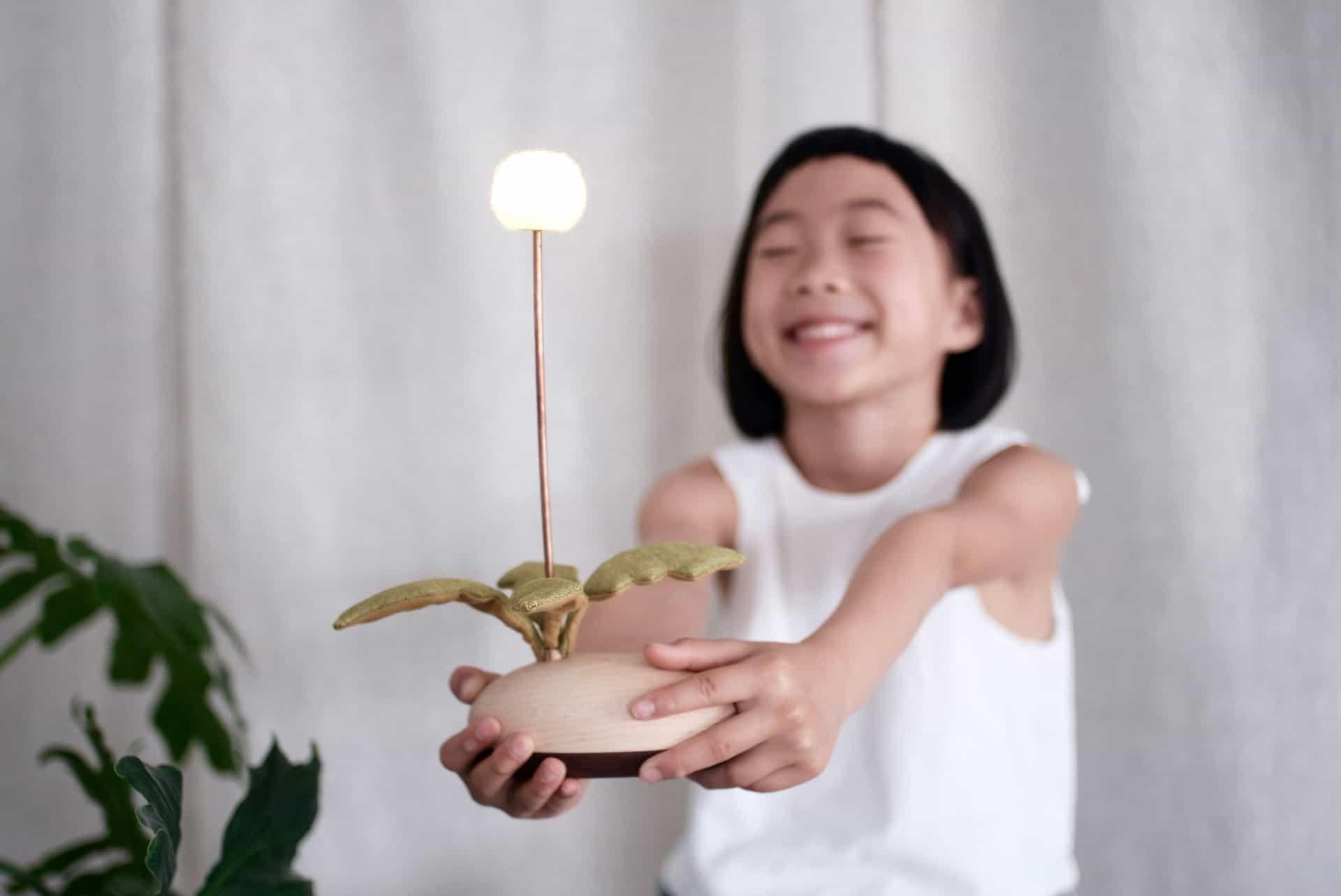 讓木作燈具點亮你生活中的溫暖時光_圖片提供/MoziDozen木子到森 互動式燈具