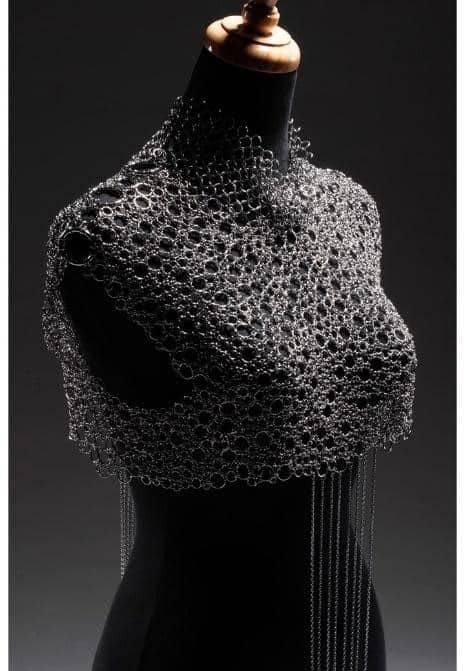 鋼藝美學CocoLin stainless chain maille:2019年T-Fashion《穿梭˙傳說》鯉魚仙子時尚禮服發布秀