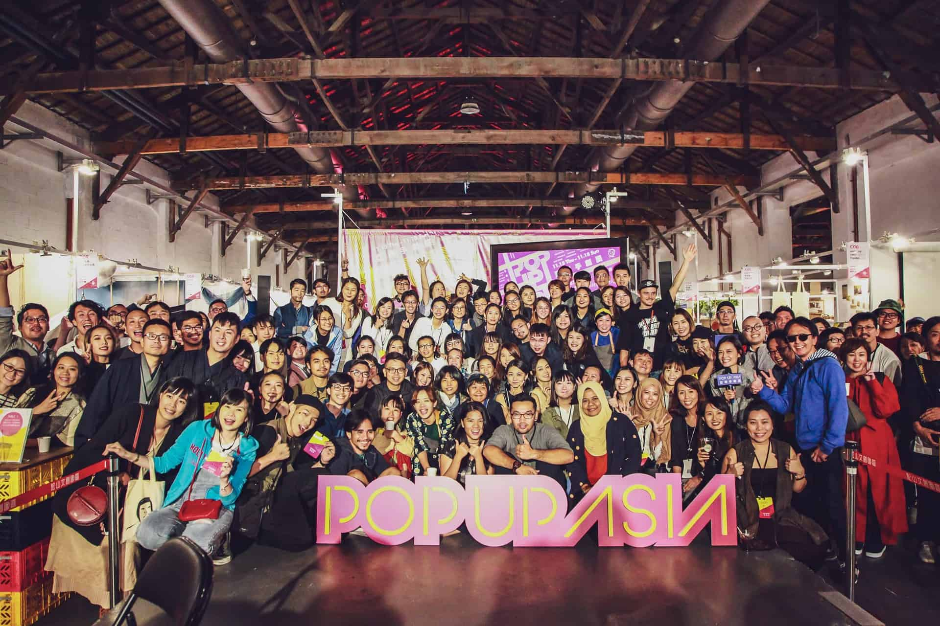 PopUpAsia手創展團體照